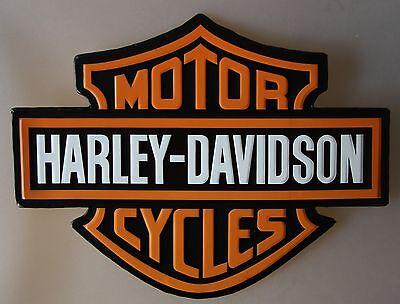 Blechschild Harley Davidson Logo 30 x 40 cm US Classic Motorrad