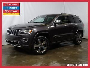 2015 Jeep Grand Cherokee OVERLAND+CUIRS+TOIT PANO+DIESEL+++