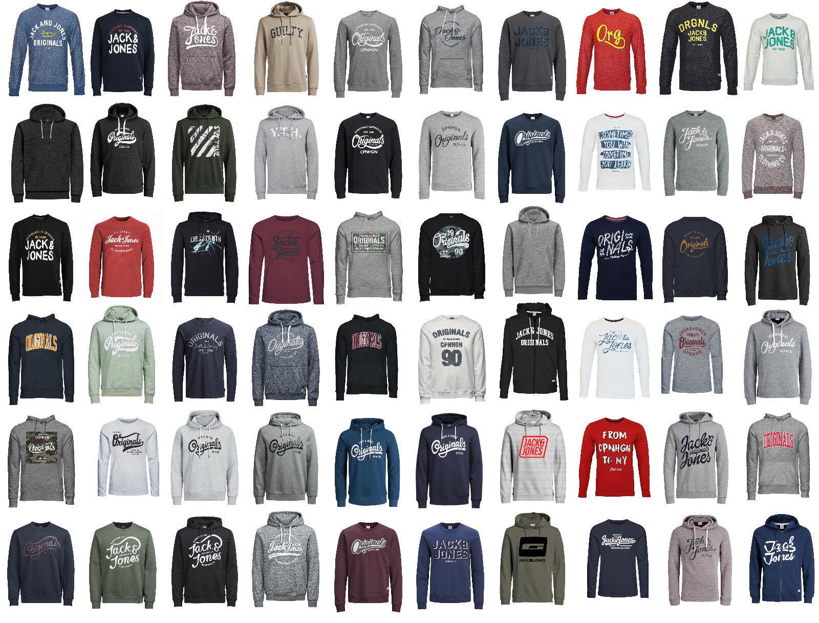 Jack & Jones Pullover Hoodies Jacken und Sweater vers Modelle & Farben