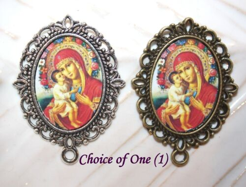 Our Lady of Pompeii Rosary Center/# 2/ Choice of Silver/ Bronze - Rosary Making