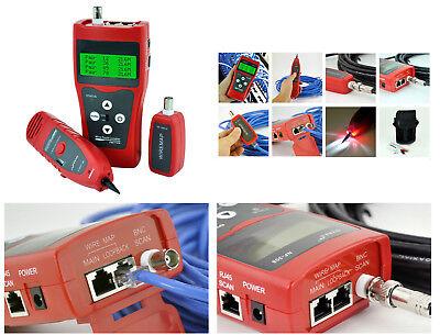 Comprobador Profesional Para Red RJ45 RJ11 USB BNC