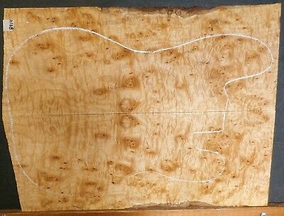 Arce Encaje Nudo Instrumento Lumber 8914 Luthier Contrabajo Eléctrico Top Madera
