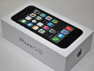 Apple iPhone 5s 16GB Space Gray (Unlocked) GSM Smartphone New Other LTE 4G