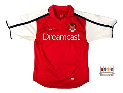 Arsenal 2000/02 Home Soccer Jersey Small Nike EPL image