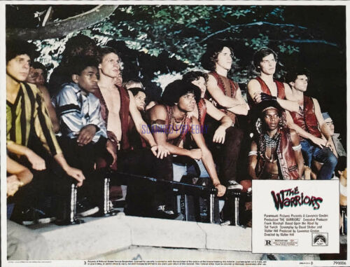 THE WARRIORS 1979 CULT HIT REPRODUCTION OF U.S. LOBBY CARD