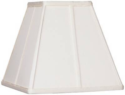 Ivory Classic Square Shade 5.25x10x9
