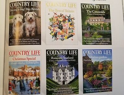 COUNTRY LIFE MAGAZINE UK Back Issues. 2008-current issue available