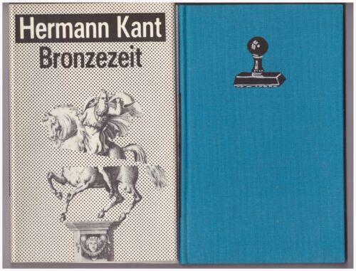 HERMANN KANT Bronzezeit – Erzählungen 1986 Erstauflage