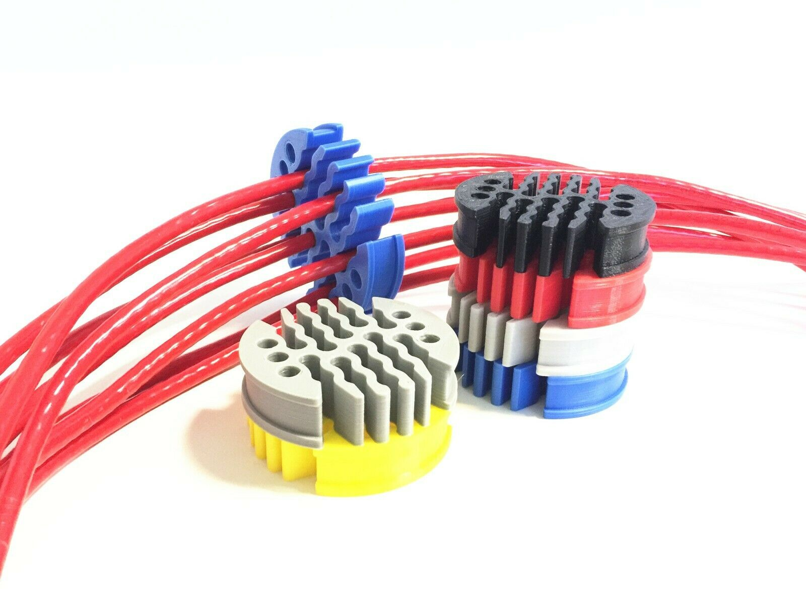 как выглядит 30way 6 Category Network Module Network Cable Comb Tools for Computer Room фото