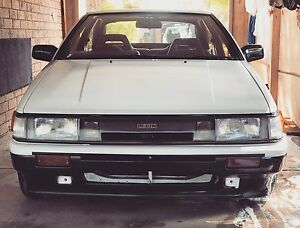 1987 Toyota AE86 Levin Japanese import Adelaide CBD Adelaide City Preview
