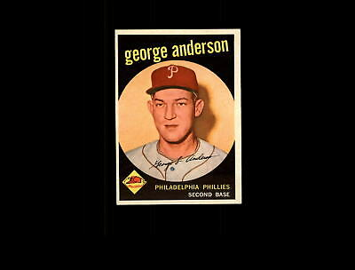 1959 Topps 338 Sparky Anderson RC NM #D603831