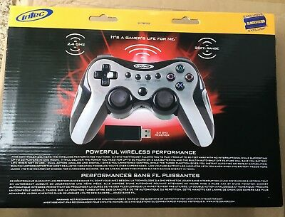 NEW INTEC TURBO SHOCK 3 III  WIRELESS CONTROLLER FOR SONY PLAY STATION 3 PS3