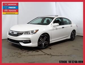 2016 Honda Accord TOURING+GARANTIE PROLONGÉ GLOBAL+GPS+CUIR+++