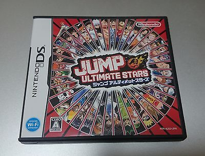 USED NINTENDO DS.JUMP Ultimate Stars. JAPAN IMPORT. NTSC. REGION FREE.