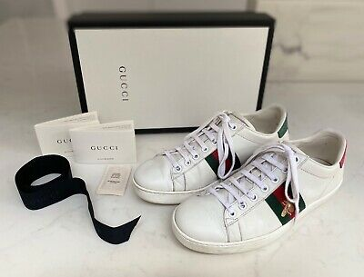 GUCCI Women's Ace Sneakers/Trainers Size 38/5