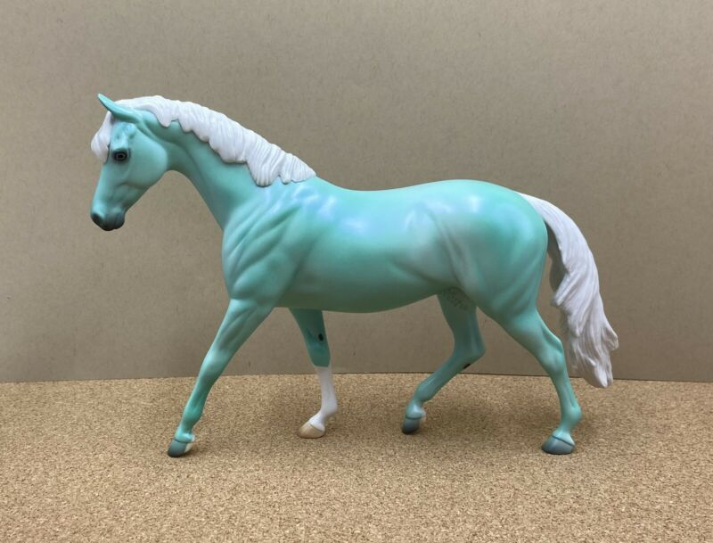 Peter Stone Pony 2020 DAH Sea Glass Blue Eyes Satin Matte Dawn Quick