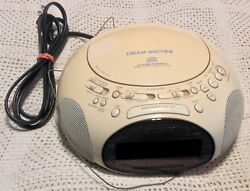SONY Dream Machine ICF-CD831 CD AM/FM Radio Alarm Clock w/ Manual