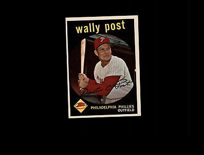 1959 Topps 398 Wally Post EX-MT #D808315