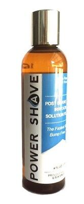 POWER SHAVE Post Shave Gel for Men 120ml ~ Ingrown Hair Shaving Rash Razor Bumps