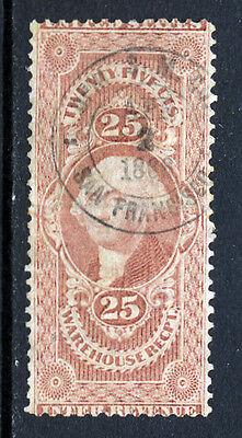 Bigjake: R50c, 25 cent Warehouse Receipt, 1st issue (Warehouse Return)