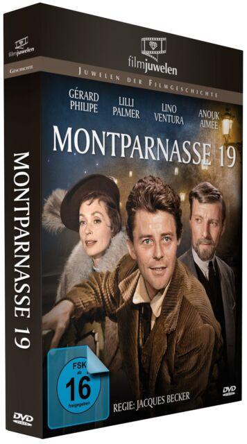Montparnasse 19 - Gerard Philipe, Lilli Palmer, Lino Ventura - Filmjuwelen DVD