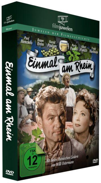 Einmal am Rhein (1952) - mit dem Evergreen von Willi Ostermann - Filmjuwelen DVD