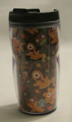 Plastic Halloween Tumblers (Starbucks Halloween Monsters Boo! 2006 8oz Plastic Coffee Tea Travel Tumbler)