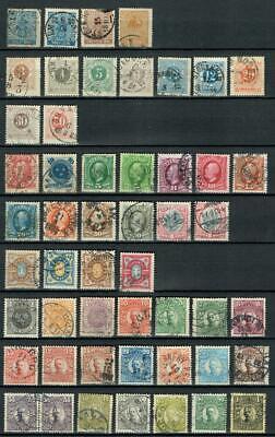 Schweden, Sweden, Sverige tolle Sammlung ab 1858 aus alter Schaubeck Schwarte