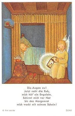 "Fleißbildchen Heiligenbild Gebetbild Andachtsbild  Holy card Ars sacra"" H770"""