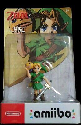 NEW Legend of Zelda Majora's Mask Amiibo Link Nintendo Switch US ships in a