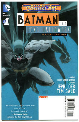 BATMAN LONG HALLOWEEN #1 Comicfest, Promo, 2013, NM, more promos in store