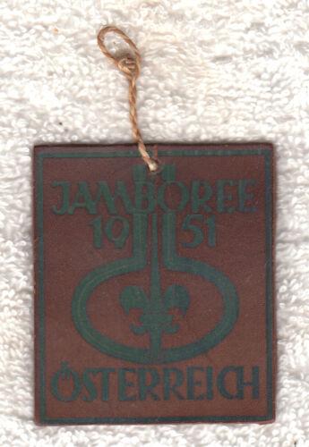 H910 7th WORLD SCOUT JAMBOREE 1951 - PARTICIPANTS POCKET PATCH - ONE PER SCOUT