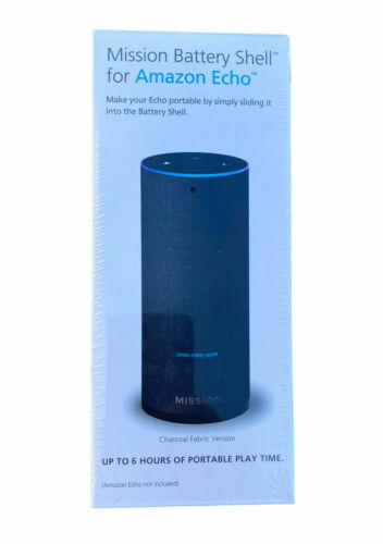 Mission Battery Shell for Amazon Echo Make your echo Portable 2nd Gen 101A