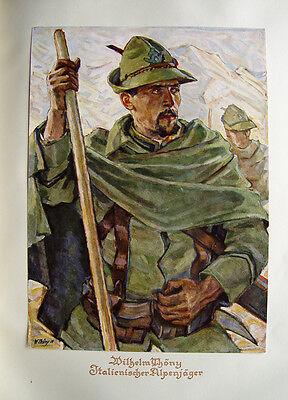 Wilhelm Thöny Italien Alpenjäger Südtirol Weltkrieg Gebirgsjäger Entente Italia