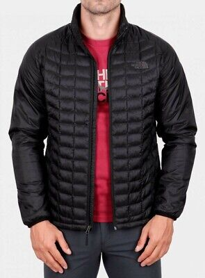 The North Face Men's Thermoball Puffer Jacket XL XLarge TNF Black New