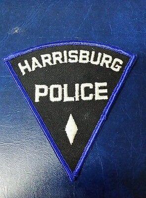VINTAGE HARRISBURG, PENNSYLVANIA POLICE SHOULDER PATCH PA