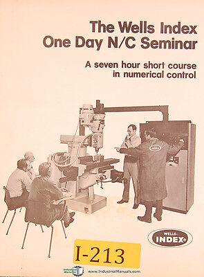 Wells Index Nc Seminar In Numerical Control Manual