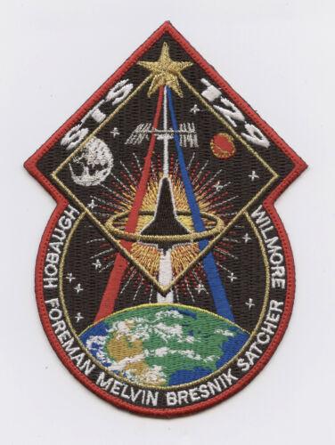 Space Shuttle STS-129 AB EMBLEM NASA PATCH