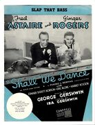 Fred Astaire Ginger Rogers Sheet Music