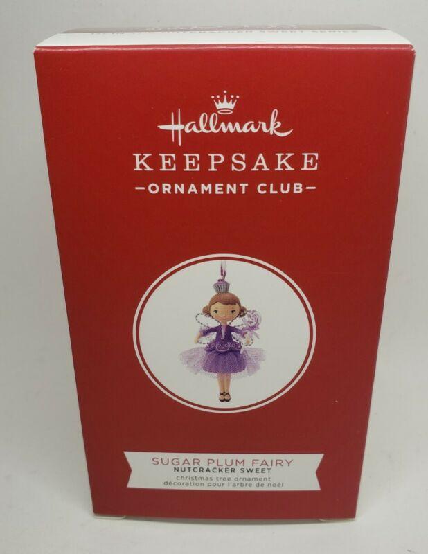 Hallmark 2019 Nutcracker Sweet 1st Sugar Plum Fairy Ornament KOC Club