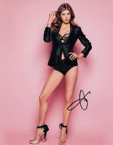 SEXY Adrianne Palicki signed 10x8 photo AFTAL & UACC [16360] + Signing Details