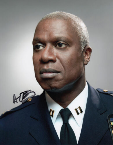 Andre Braugher signed Brooklyn Nine-Nine 10x8 photo AFTAL [16180] + Signing Info