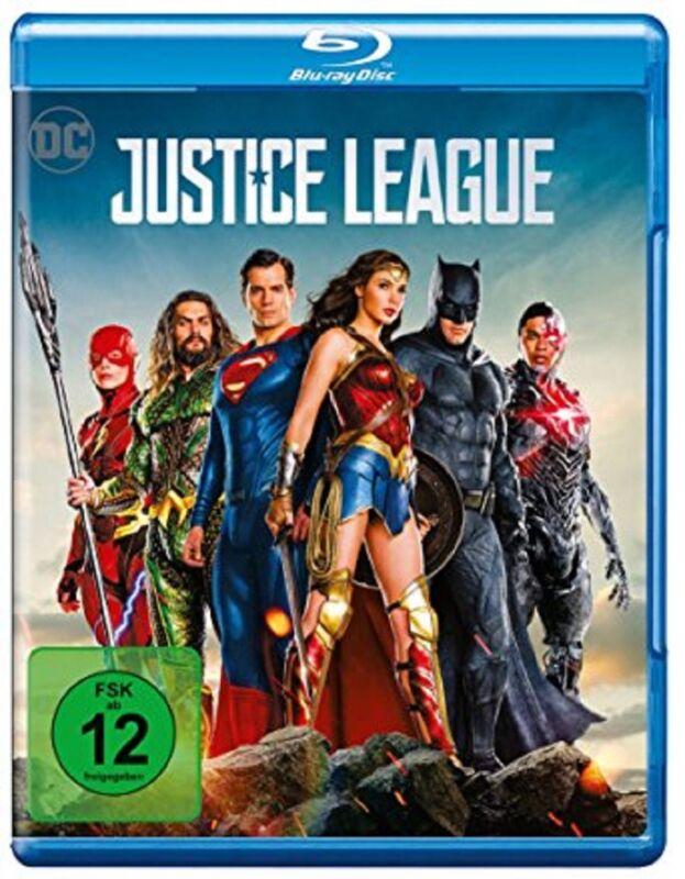 Justice League Blu-ray Der Kinofilm 2017 NEU OVP DC Universe