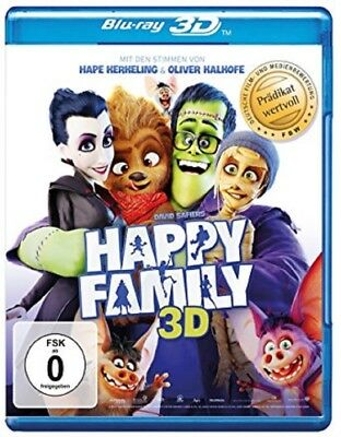 Happy Family 3D Blu-ray NEU OVP Kinderfilm