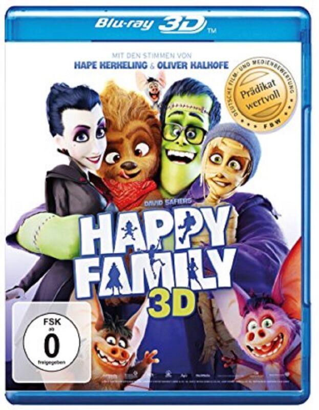 Happy Family 3D Blu-ray NEU OVP Kinderfilm