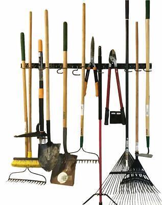 Garage Tool Hanger Gardening Storage Rack Wall Mount Yard Organizer Holder Hooks