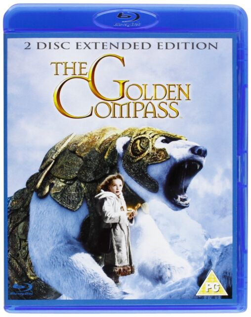 New The Golden Compass on Blu ray-Disc 2 Disc Extended Edition Nicole Kidman