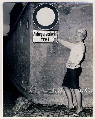 AUGSBURG Bordellgasse / Prostitution / Hasengasse * Vintage 50s SEUFERT Photo