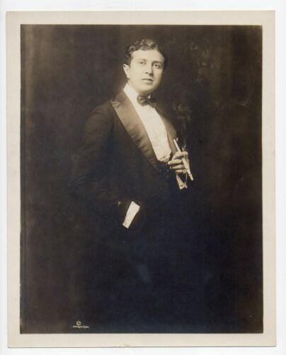 JOHN McCORMICK Irish Tenor opera & concert singer ORIG PHOTO DBW 8x10