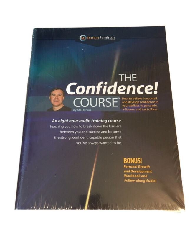 The Confidence Course Audio Training Course by MJ DurkinBrand New